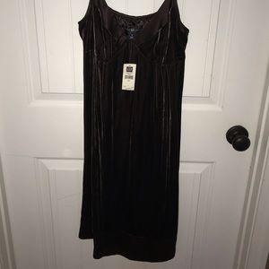 GAP Brown- Velvet Dress